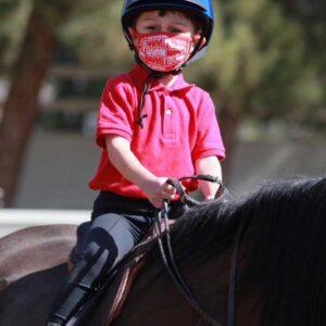 Children's riding lessons